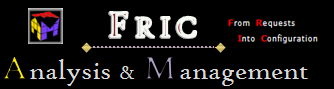 FRIC Analysis & Mangement logo From Requests Into Configuration